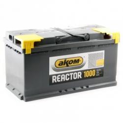 Аккумулятор 6СТ-100А АКОМ Reactor